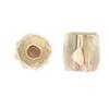 Glass Bead Ornela Cut 7/7mm Crystal Rainbow Bronze - Strung
